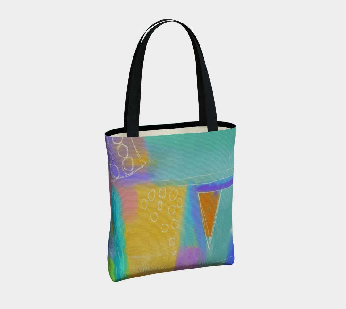 Aperçu de Original Abstract Art Shoulder Bag #4