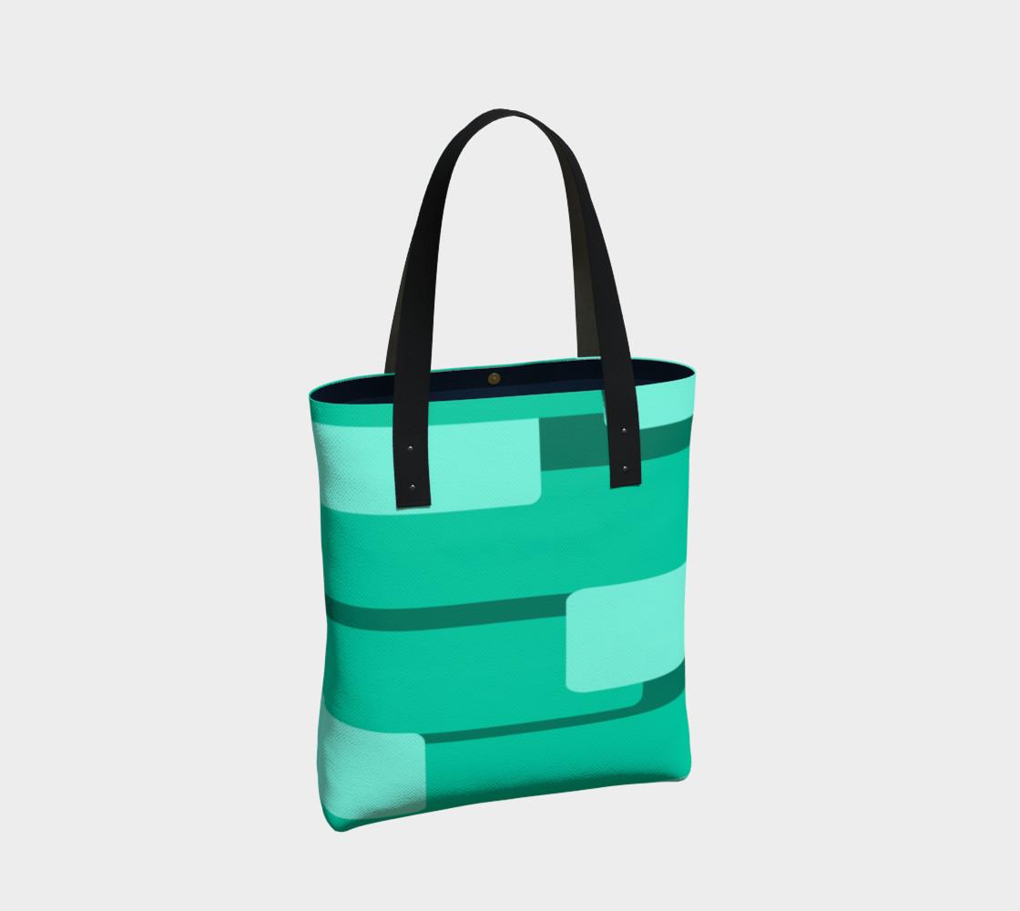 Teal Ocean Tote Bag preview #2