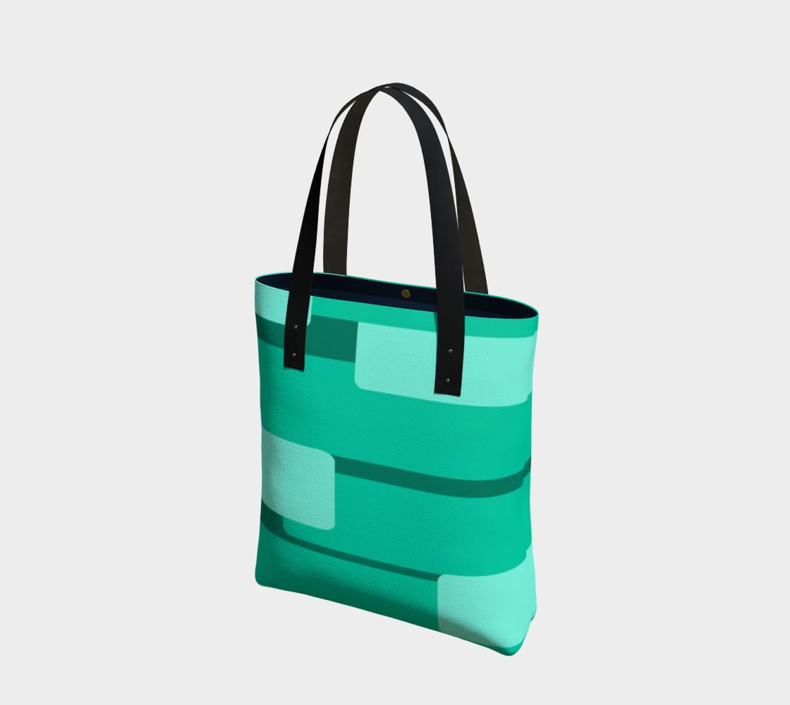 Teal Ocean Tote Bag preview #1