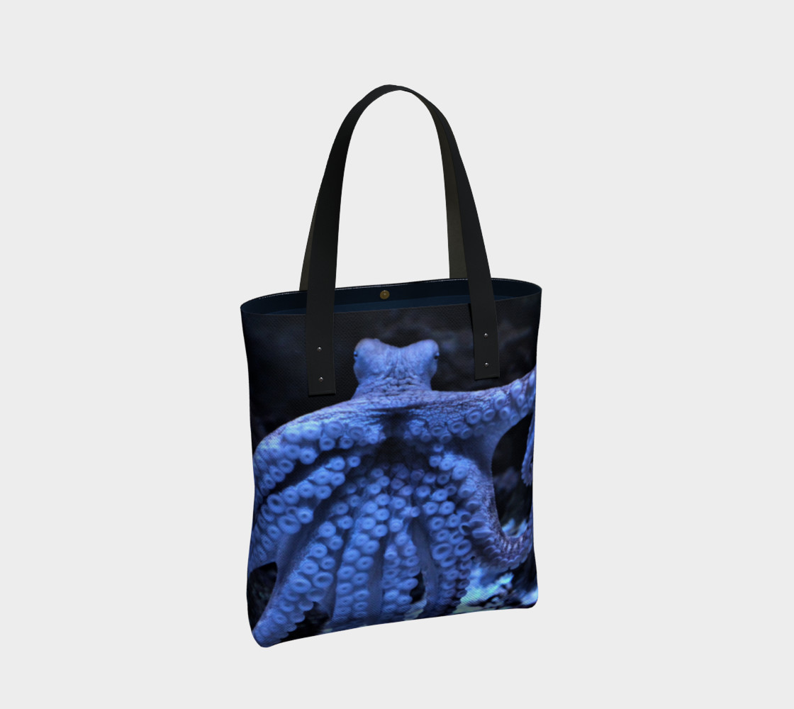 Dark Octopus Black Light Tote  preview #2