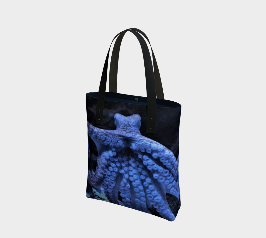 Dark Octopus Black Light Tote  preview #1
