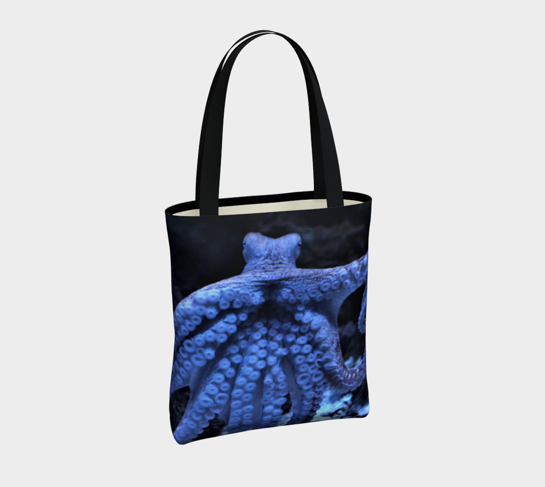 Dark Octopus Black Light Tote  preview #4