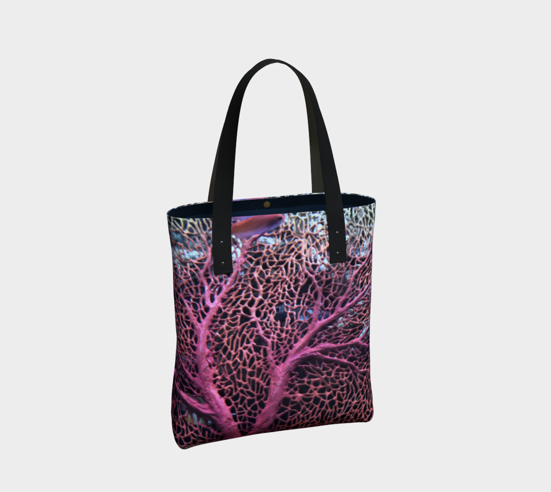 Pink Coral Tote  preview #2