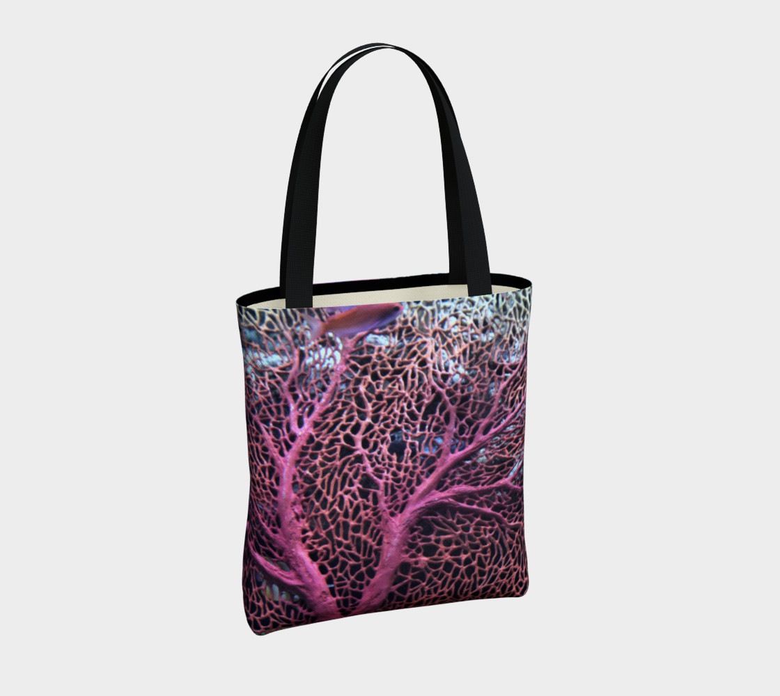 Pink Coral Tote  preview #4