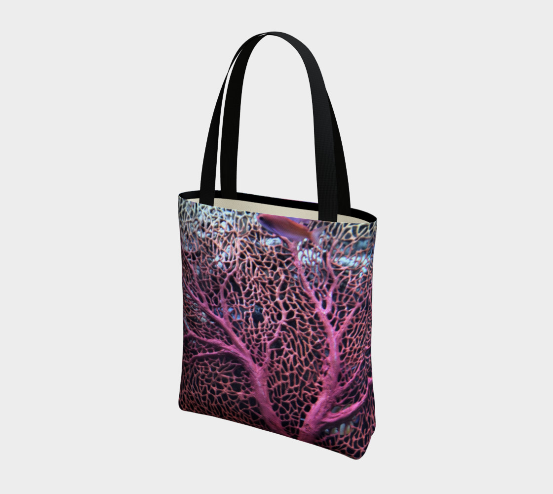 Pink Coral Tote  preview #3