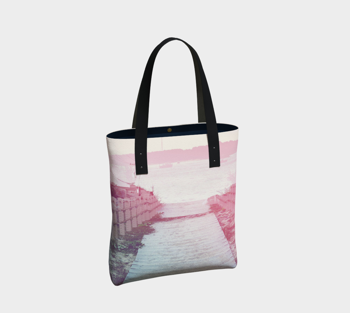 Pink Beach Tote Bag preview #2