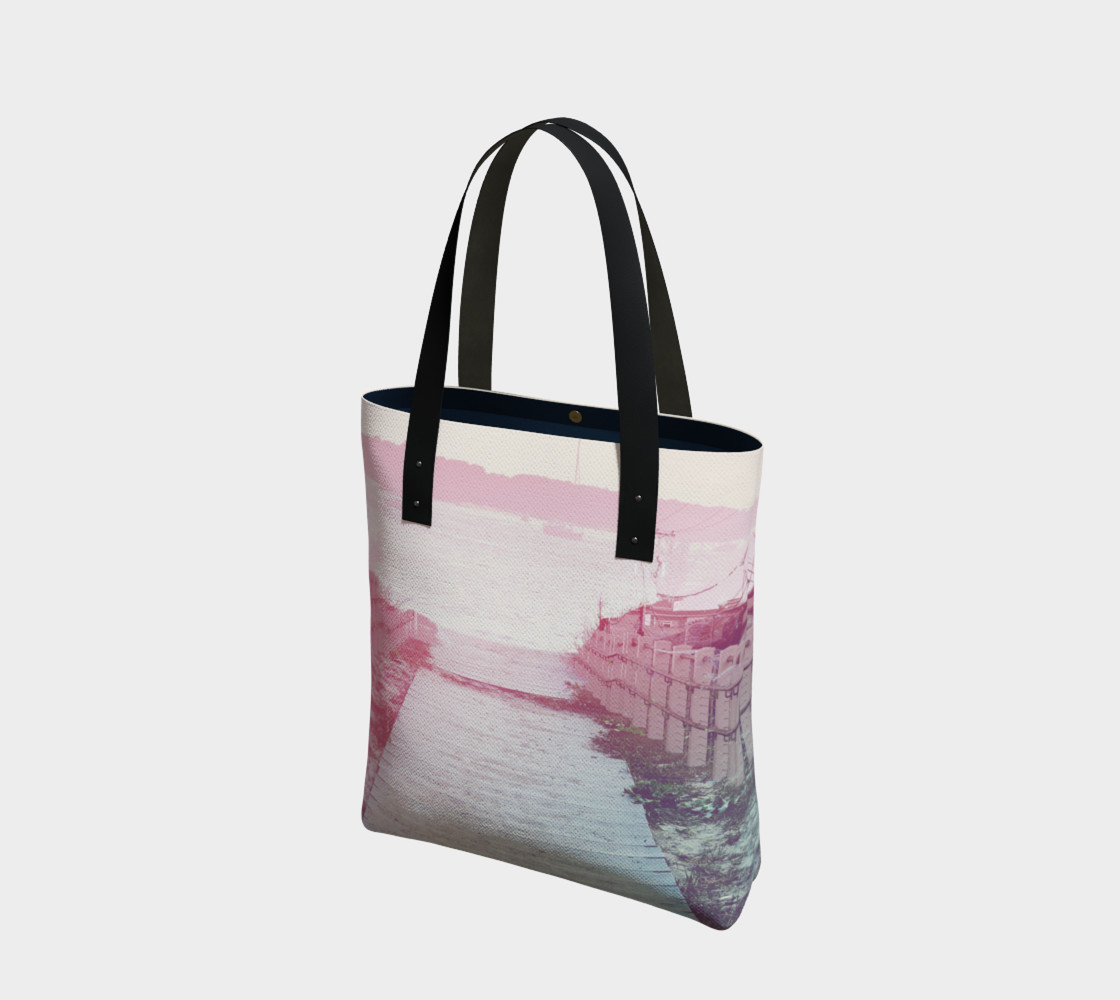 Pink Beach Tote Bag preview #1