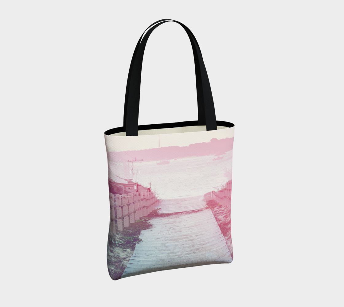 Pink Beach Tote Bag preview #4