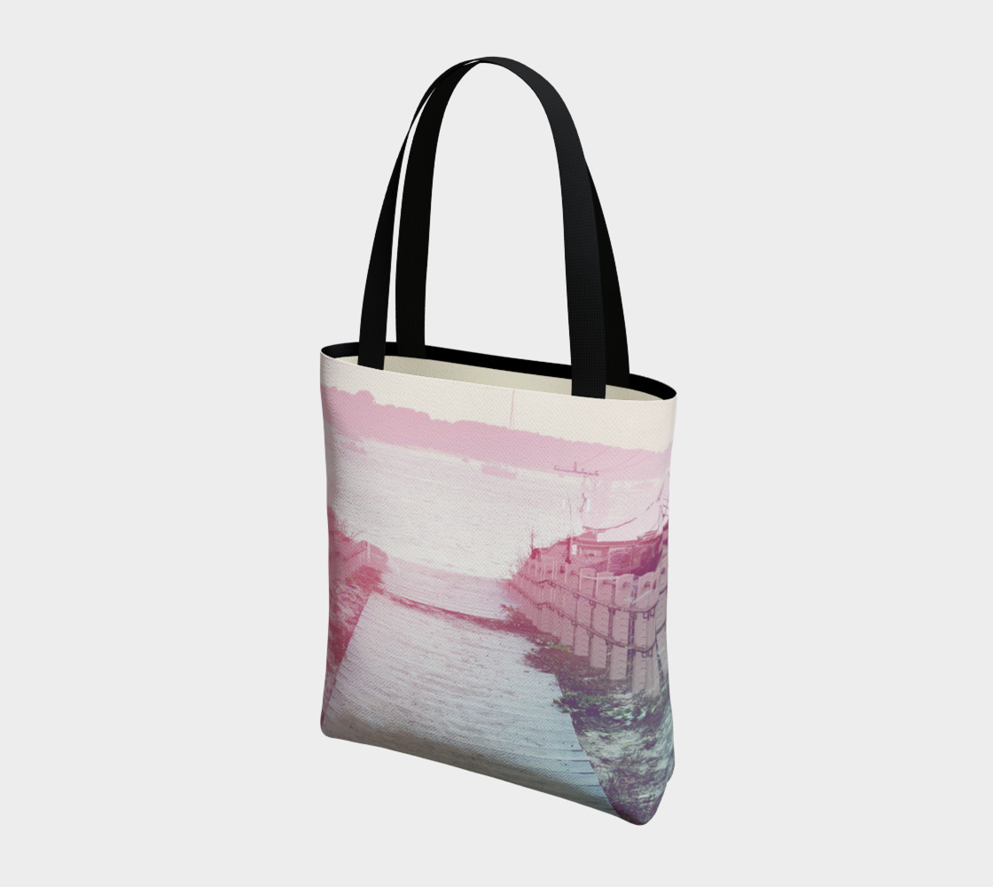 Pink Beach Tote Bag preview #3
