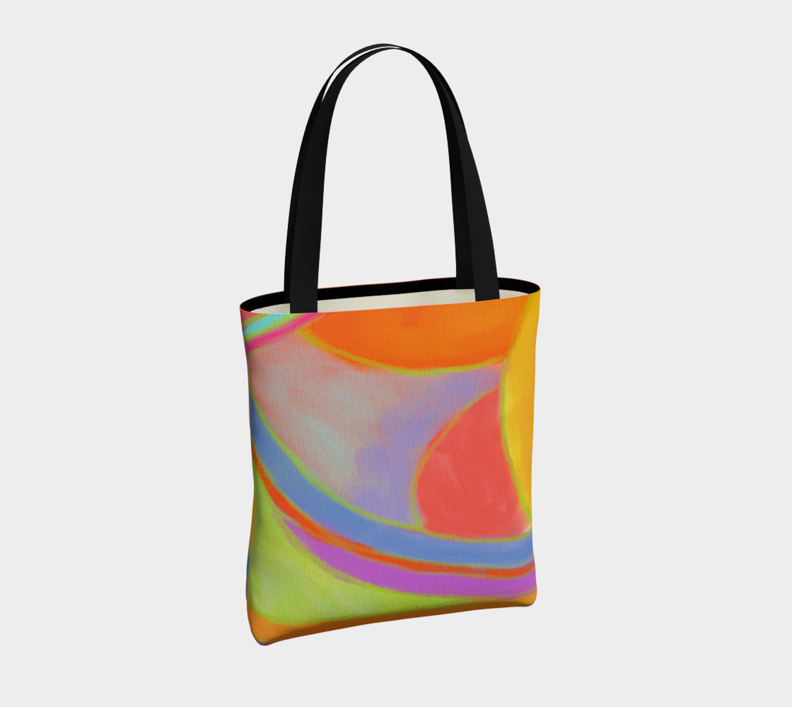 Original Abstract Art Shoulder Bag preview #4