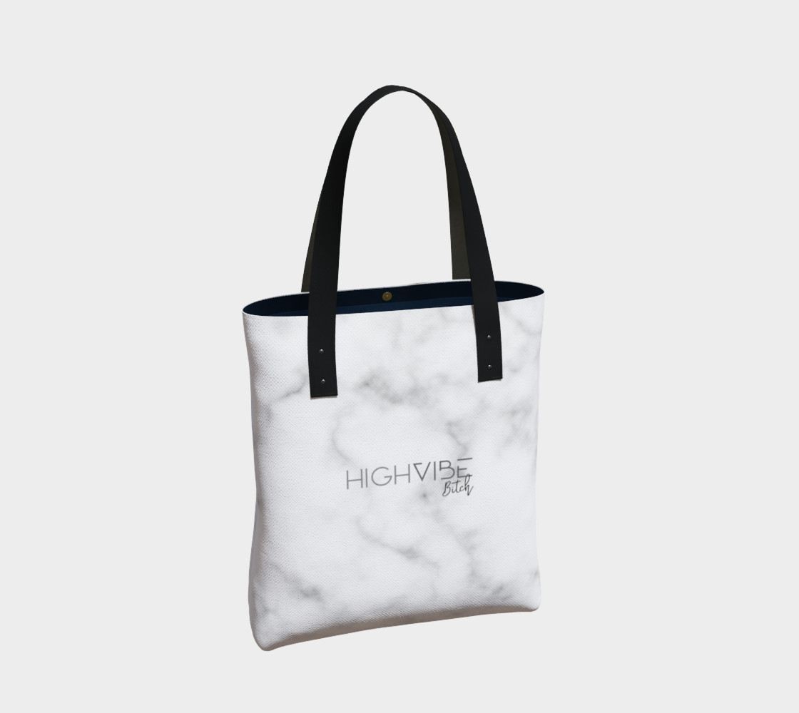 Join Your Local Coven Marble Tote preview #2
