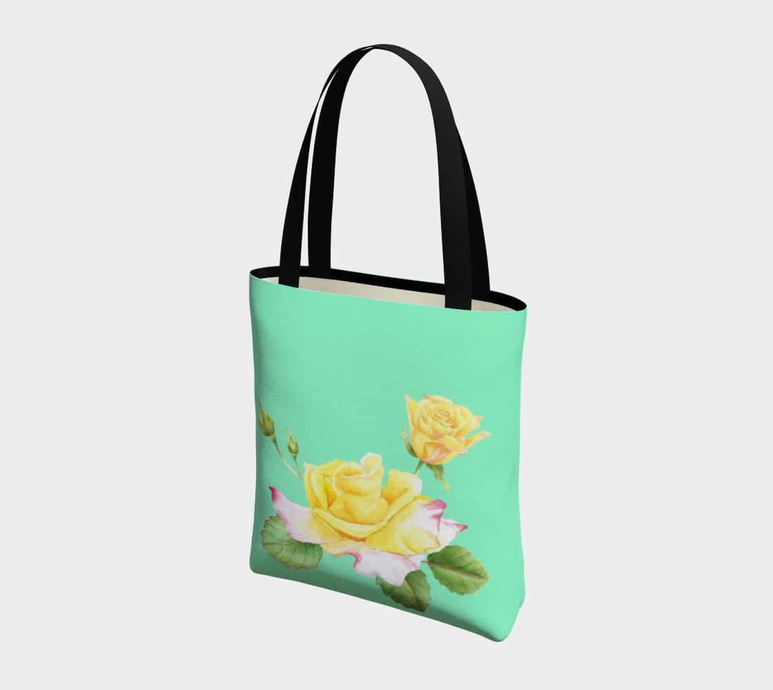 Yellow Rose Tote Bag preview #3