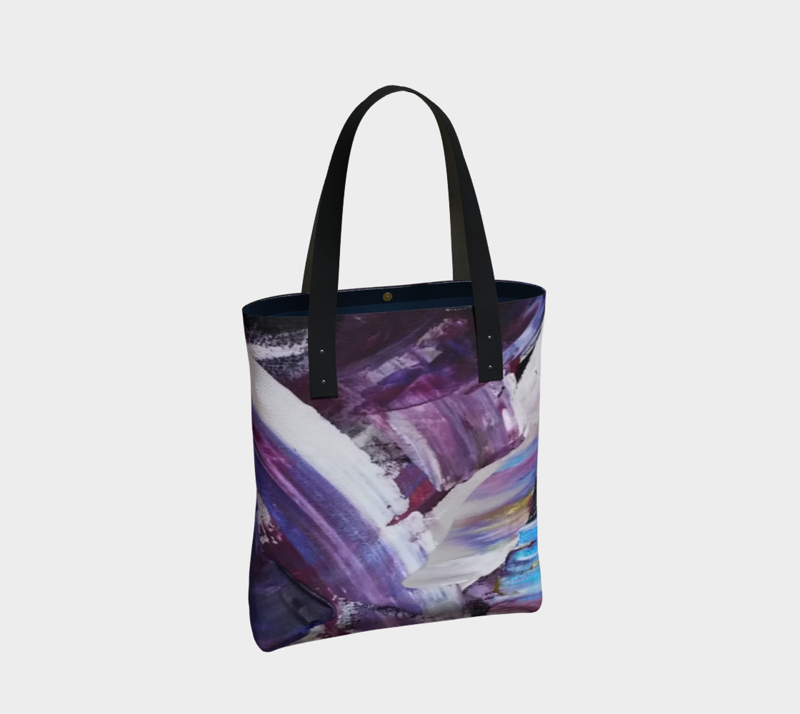 Energy Shift Urban Totebag by Janet Gervers preview #2