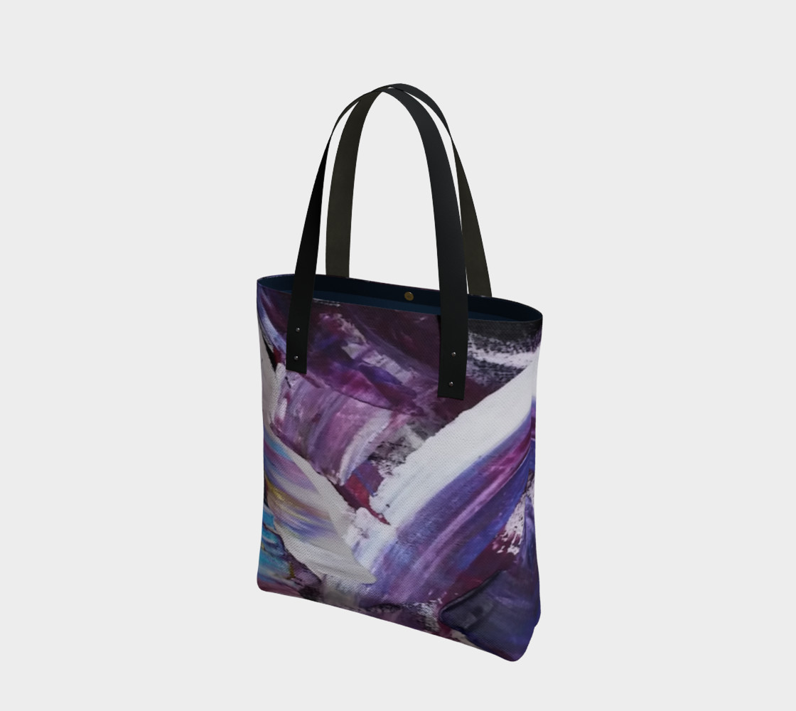 Energy Shift Urban Totebag by Janet Gervers preview #1