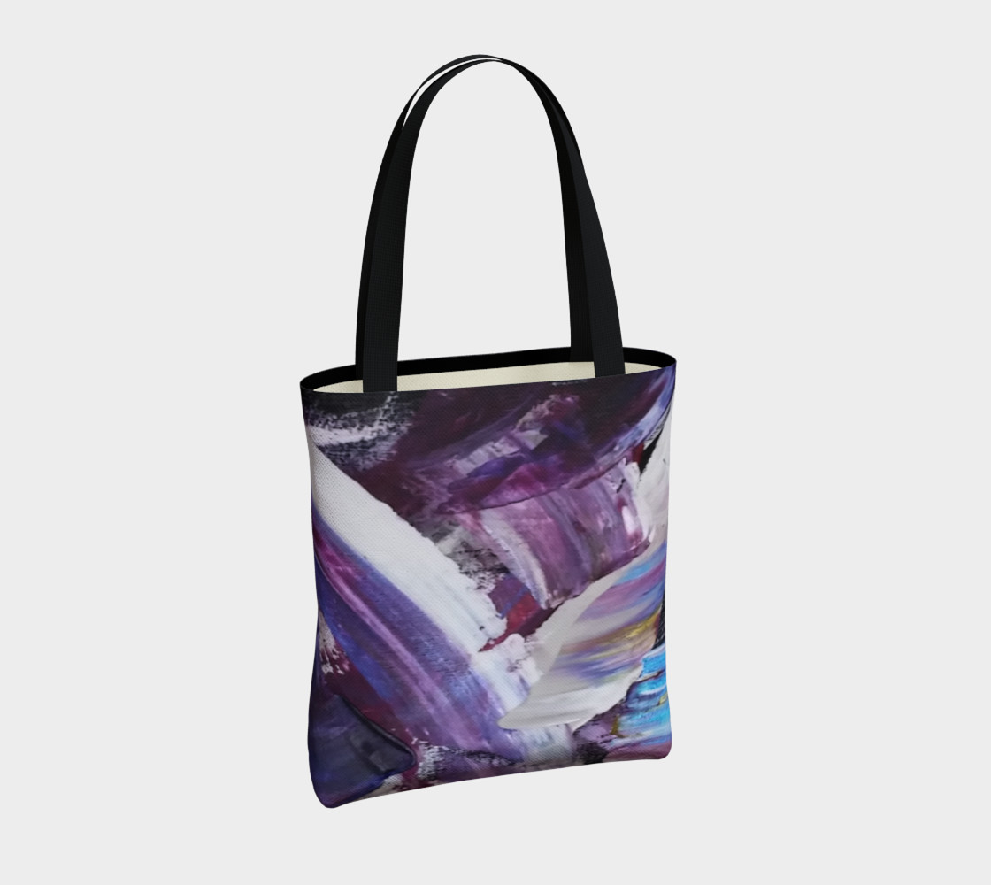 Energy Shift Urban Totebag by Janet Gervers preview #4