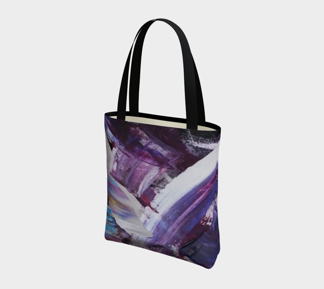 Energy Shift Urban Totebag by Janet Gervers preview #3