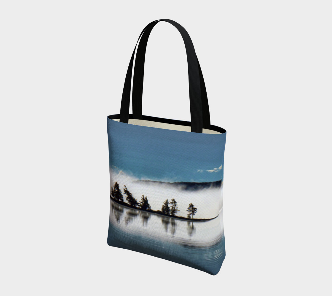 Blueberry Island Tote Bag Miniature #4