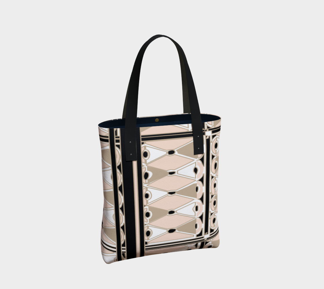 Pink Champagne Deco Josephina Sport Tote Bag preview #2