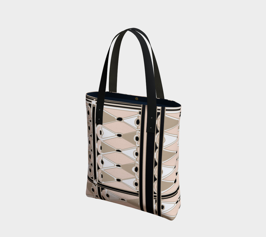 Pink Champagne Deco Josephina Sport Tote Bag preview #1