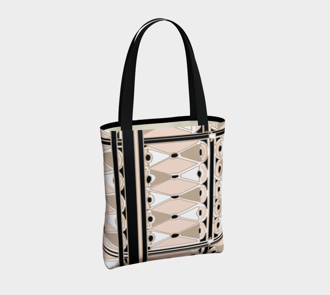 Pink Champagne Deco Josephina Sport Tote Bag preview #4