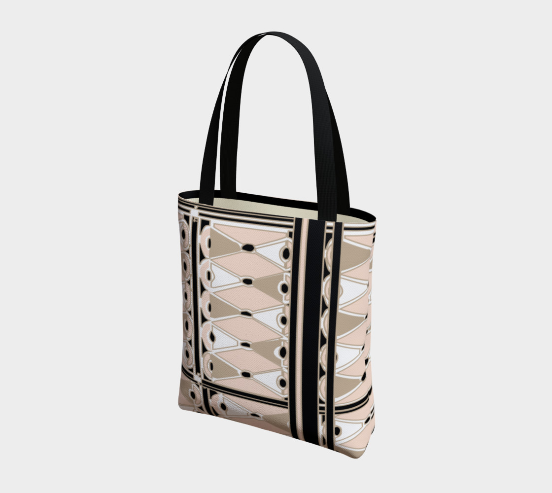 Pink Champagne Deco Josephina Sport Tote Bag preview #3