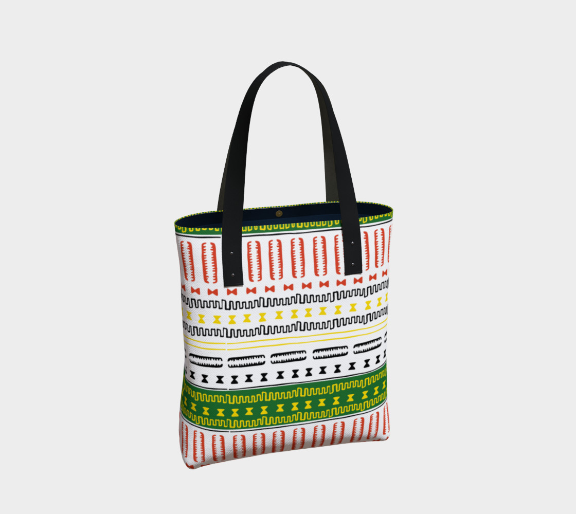 tote bag mudcloth 3a1 Miniature #3