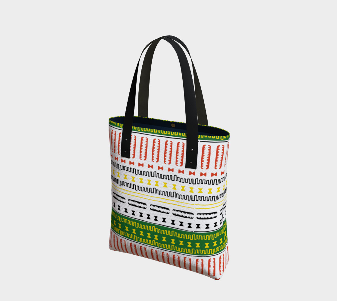 tote bag mudcloth 3a1 Miniature #2