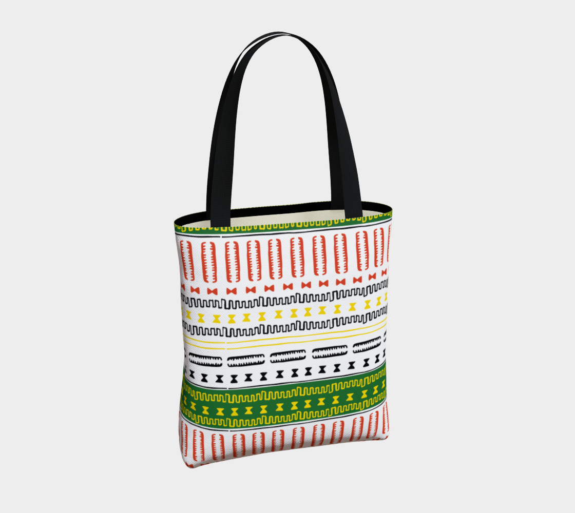 tote bag mudcloth 3a1 Miniature #5