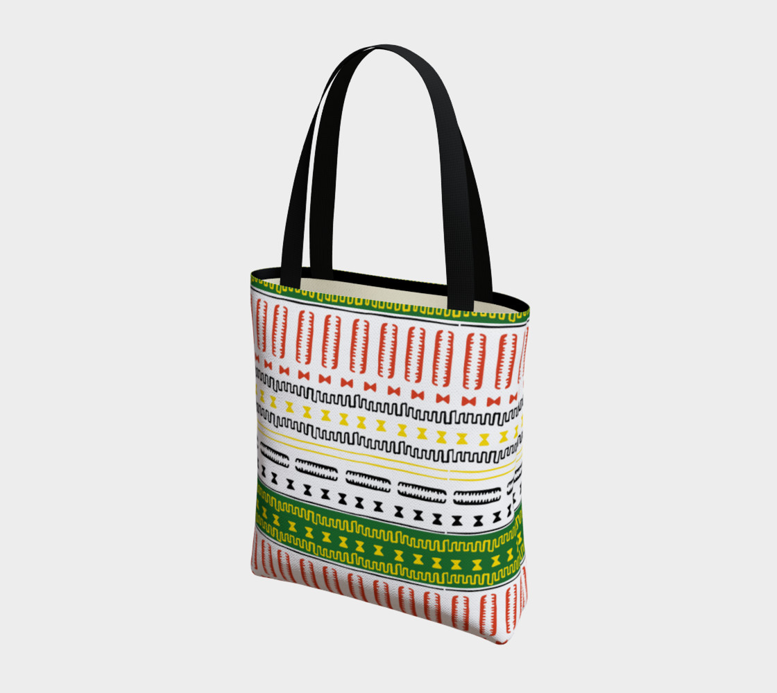 tote bag mudcloth 3a1 Miniature #4