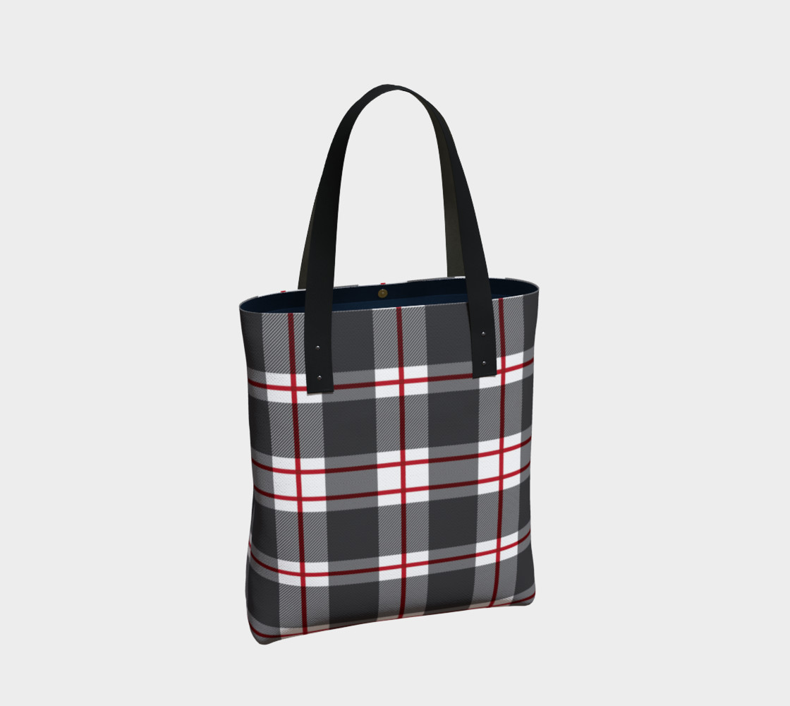 Plaid Tote Bag thumbnail #3