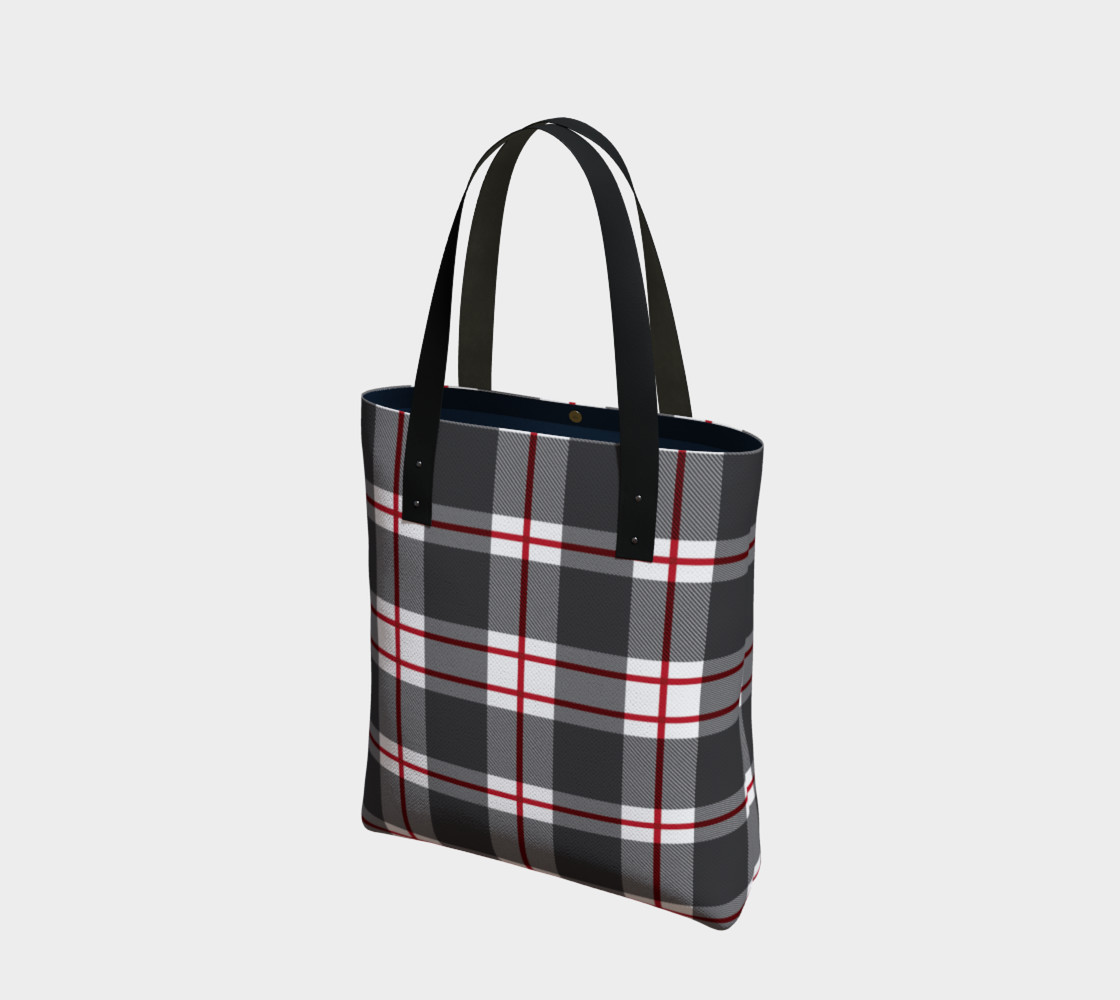 Plaid Tote Bag preview #1