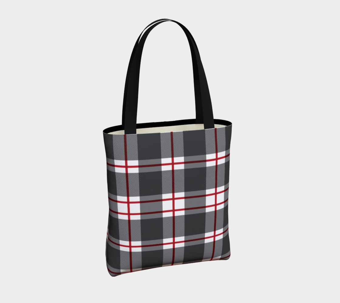 Plaid Tote Bag preview #4
