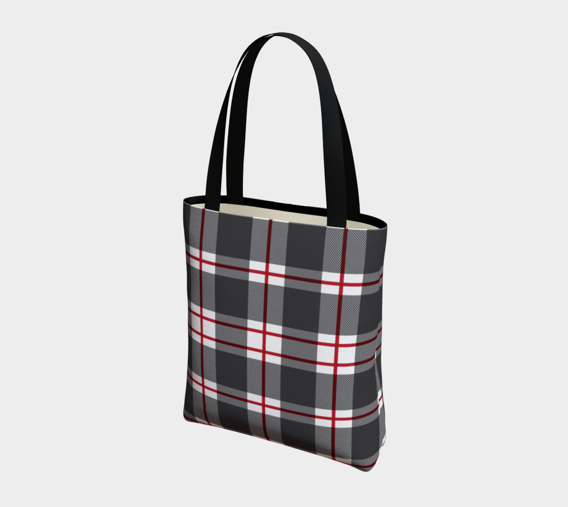 Plaid Tote Bag preview #3