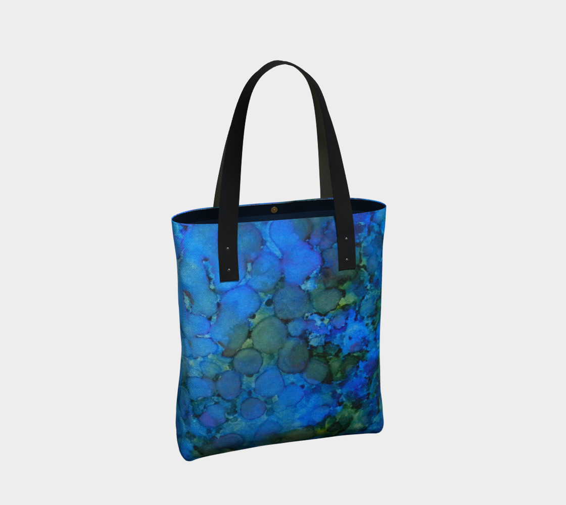 Summer Lake Ink #5 Tote Bag preview #2