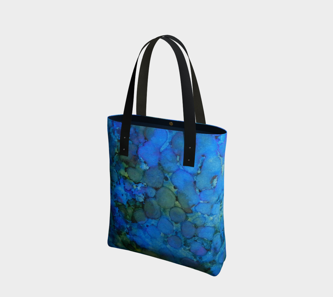 Summer Lake Ink #5 Tote Bag preview #1