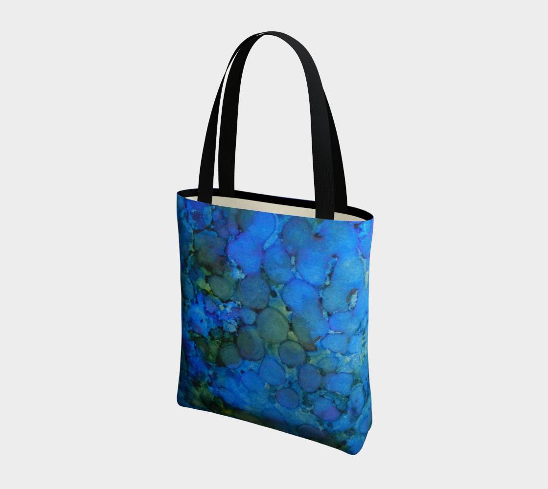 Summer Lake Ink #5 Tote Bag preview #3