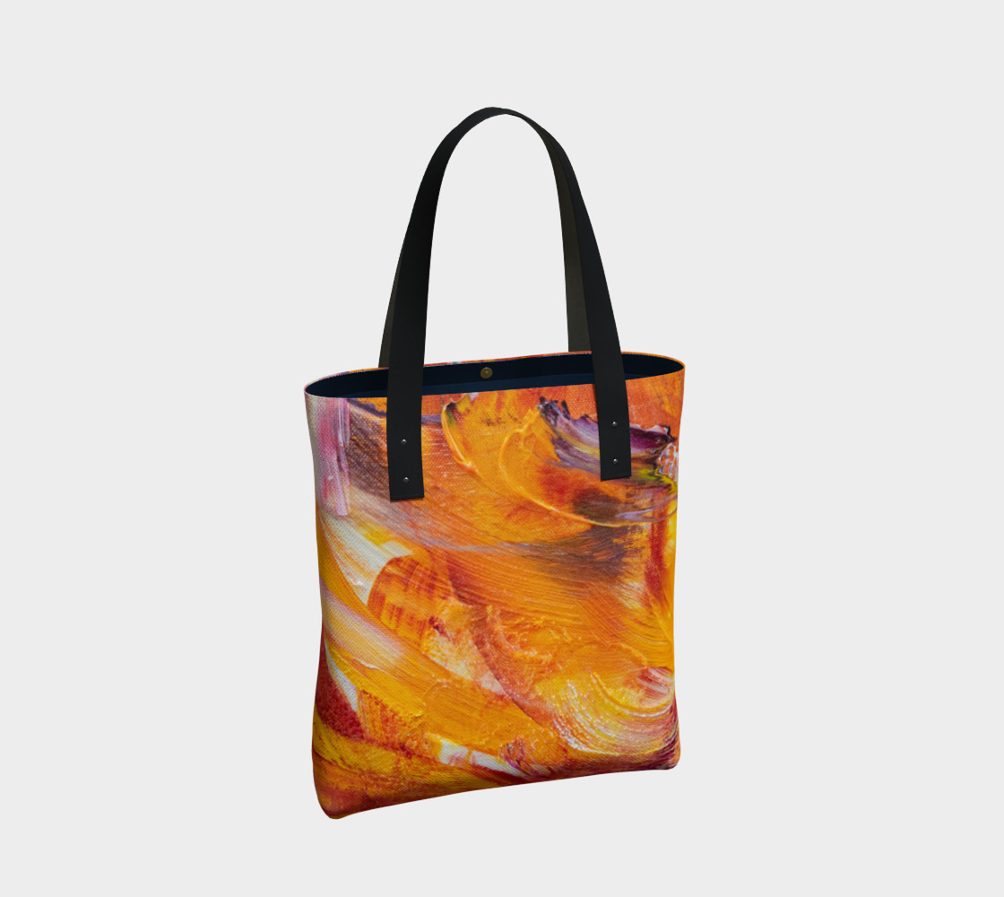 Aperçu de Orange Julie Tote Bag #2