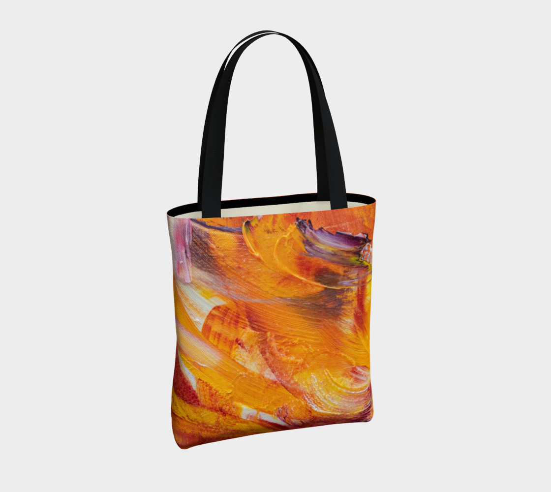 Orange Julie Tote Bag preview #4