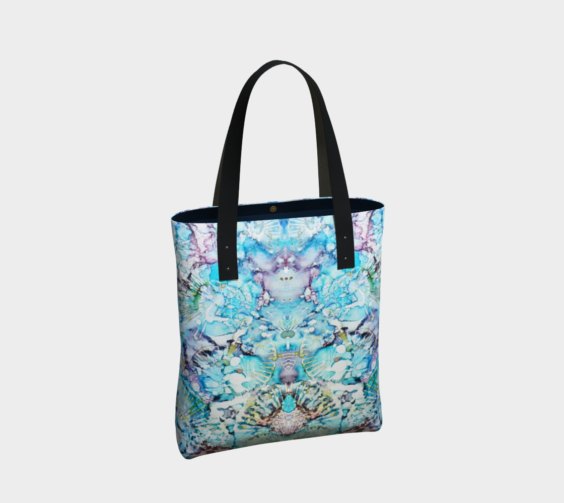 Blu Butterfly Ink #25 Tote-Bag thumbnail #3