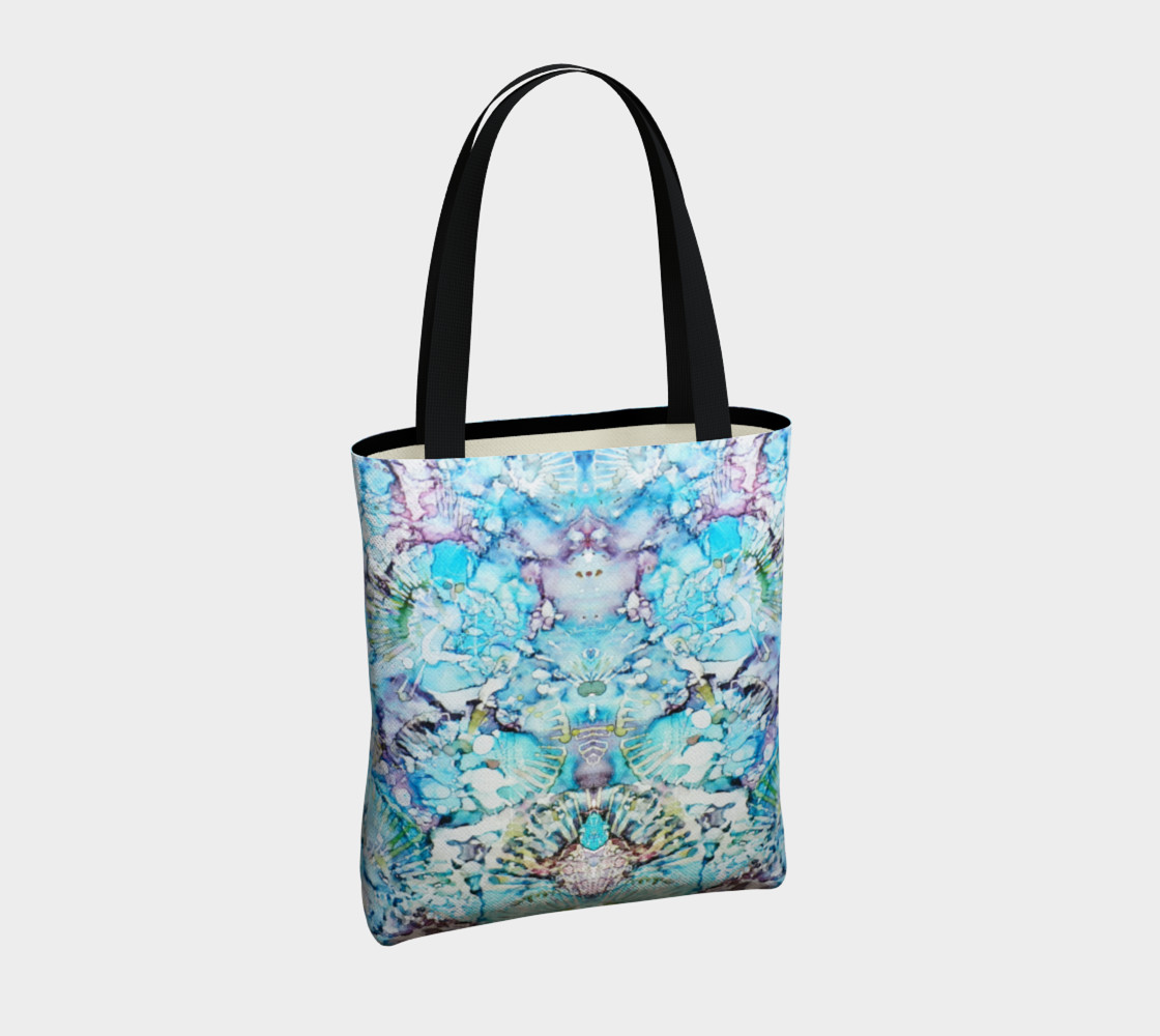 Blu Butterfly Ink #25 Tote-Bag thumbnail #5