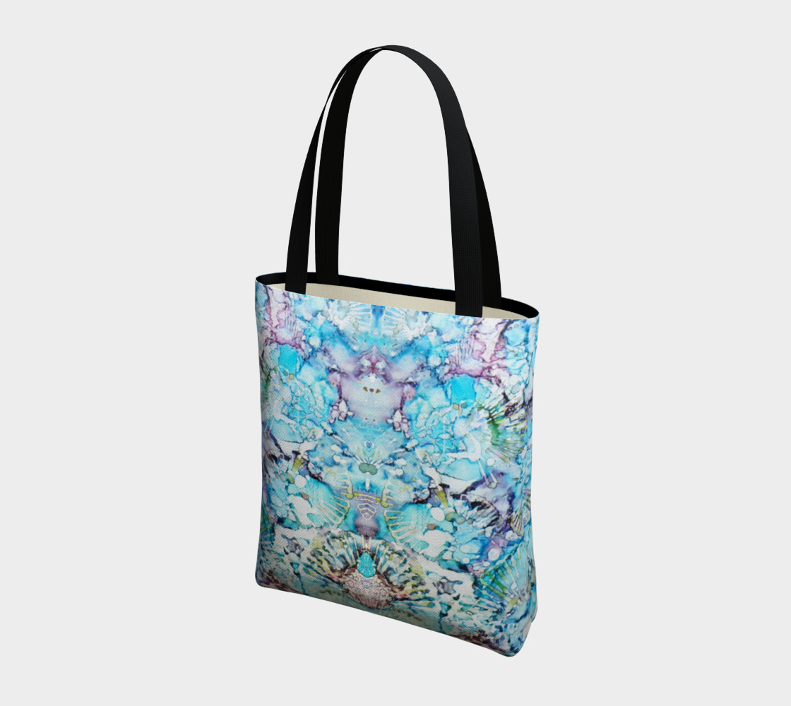 Blu Butterfly Ink #25 Tote-Bag thumbnail #4