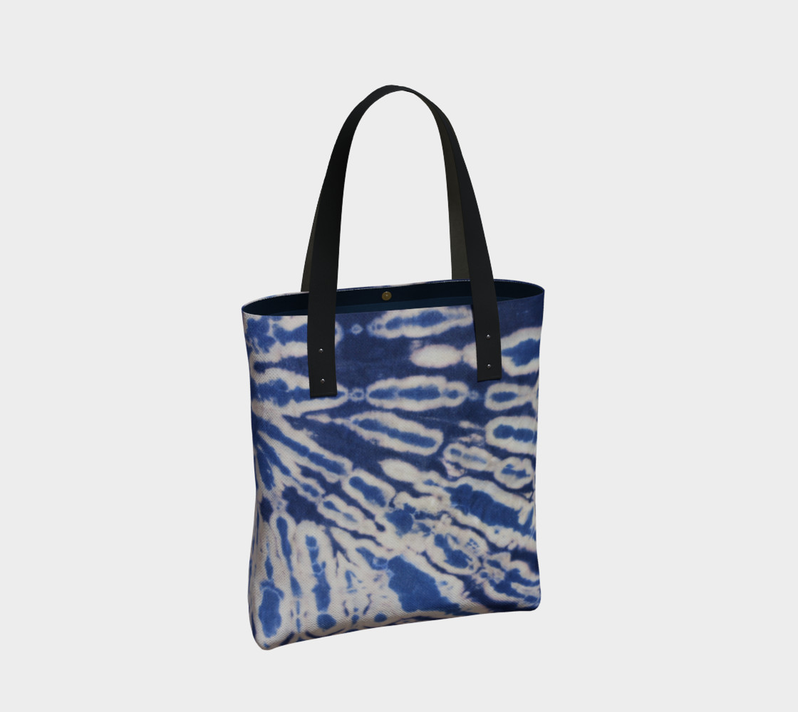 Shibori #1 Tote Bag Miniature #3