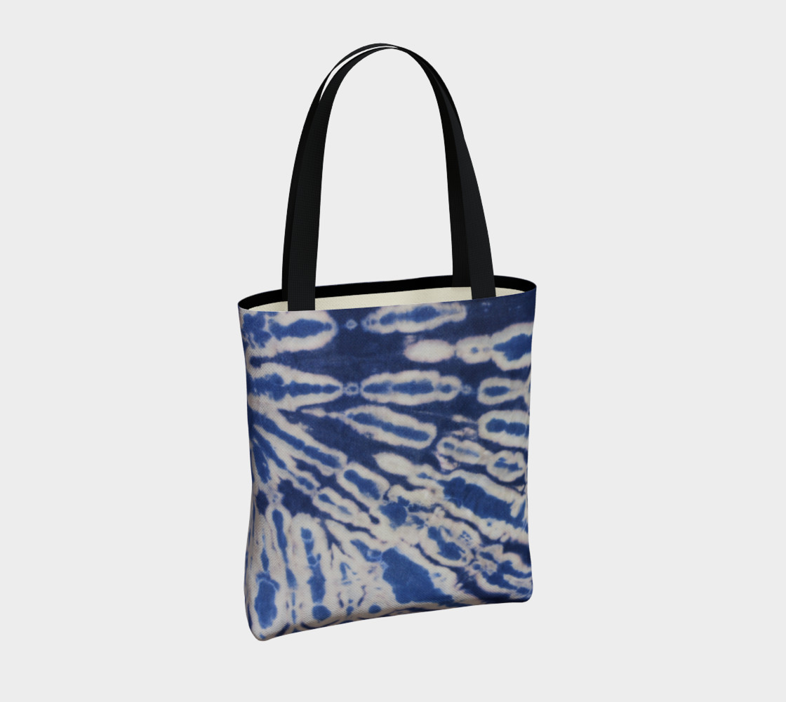 Shibori #1 Tote Bag Miniature #5