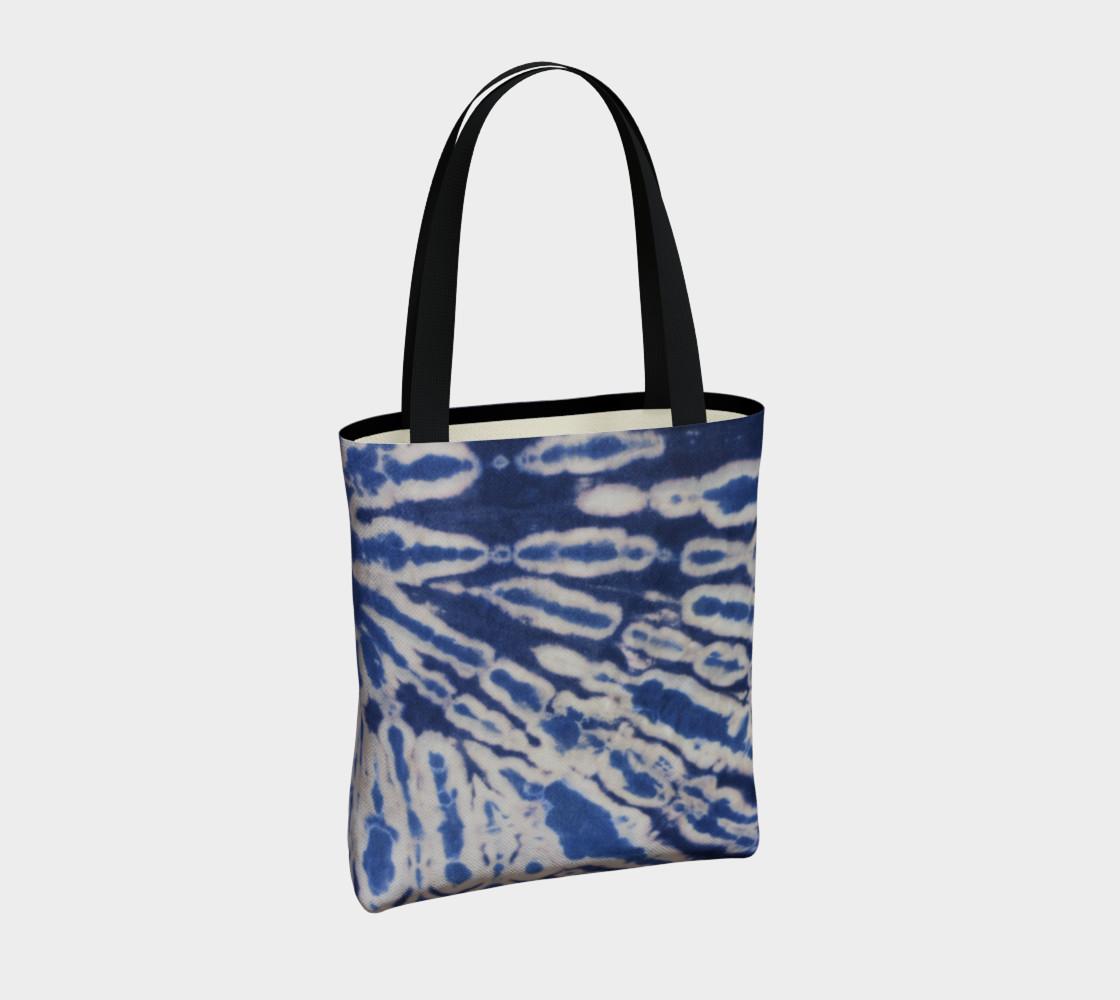 Shibori #1 Tote Bag preview #4