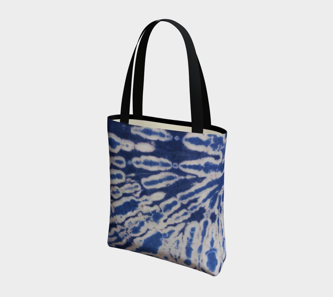 Shibori #1 Tote Bag preview #3