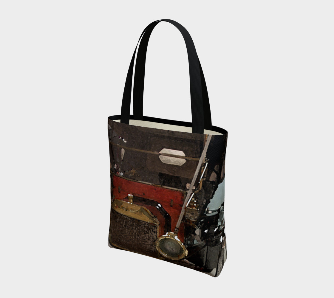Wheels #2 Tote Bag preview #3