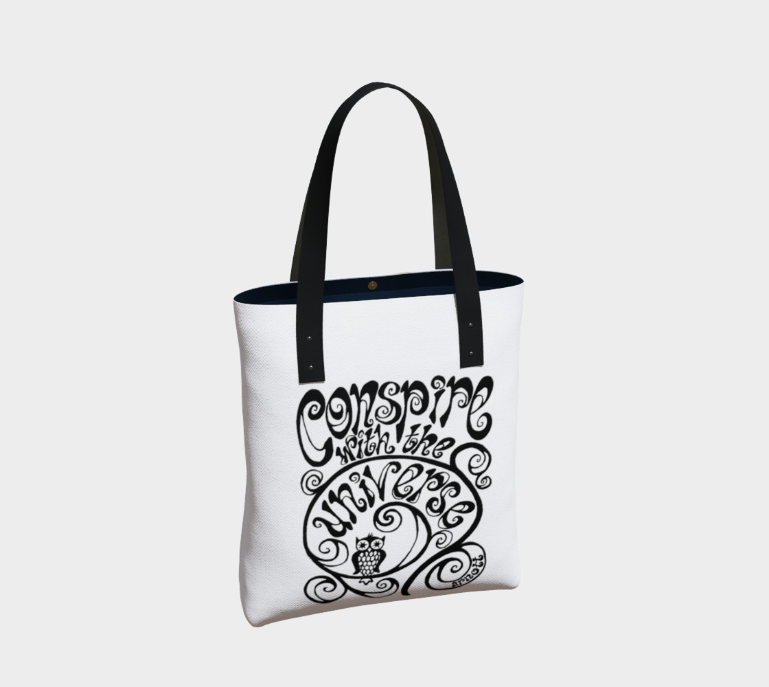Conspire with the Universe tote preview #2