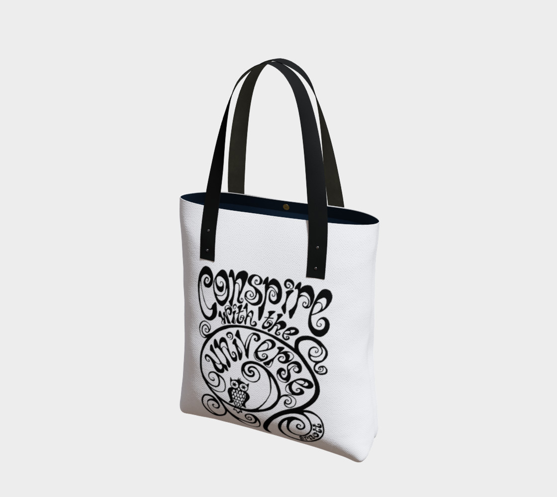 Conspire with the Universe tote preview #1