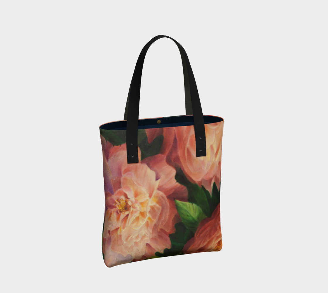Spring Floral Tote Bag preview #2