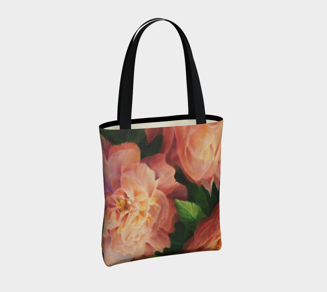 Spring Floral Tote Bag preview #4